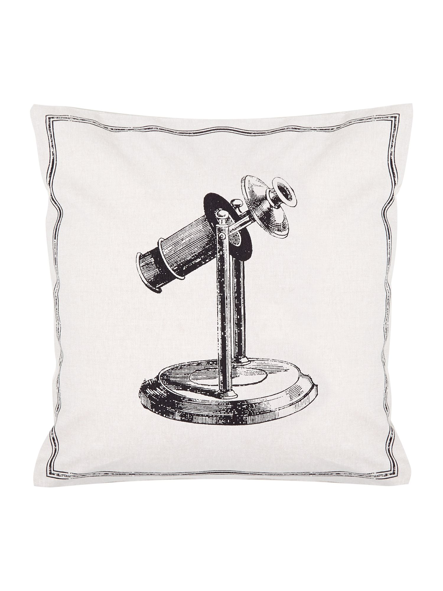 Telescope icon cushion