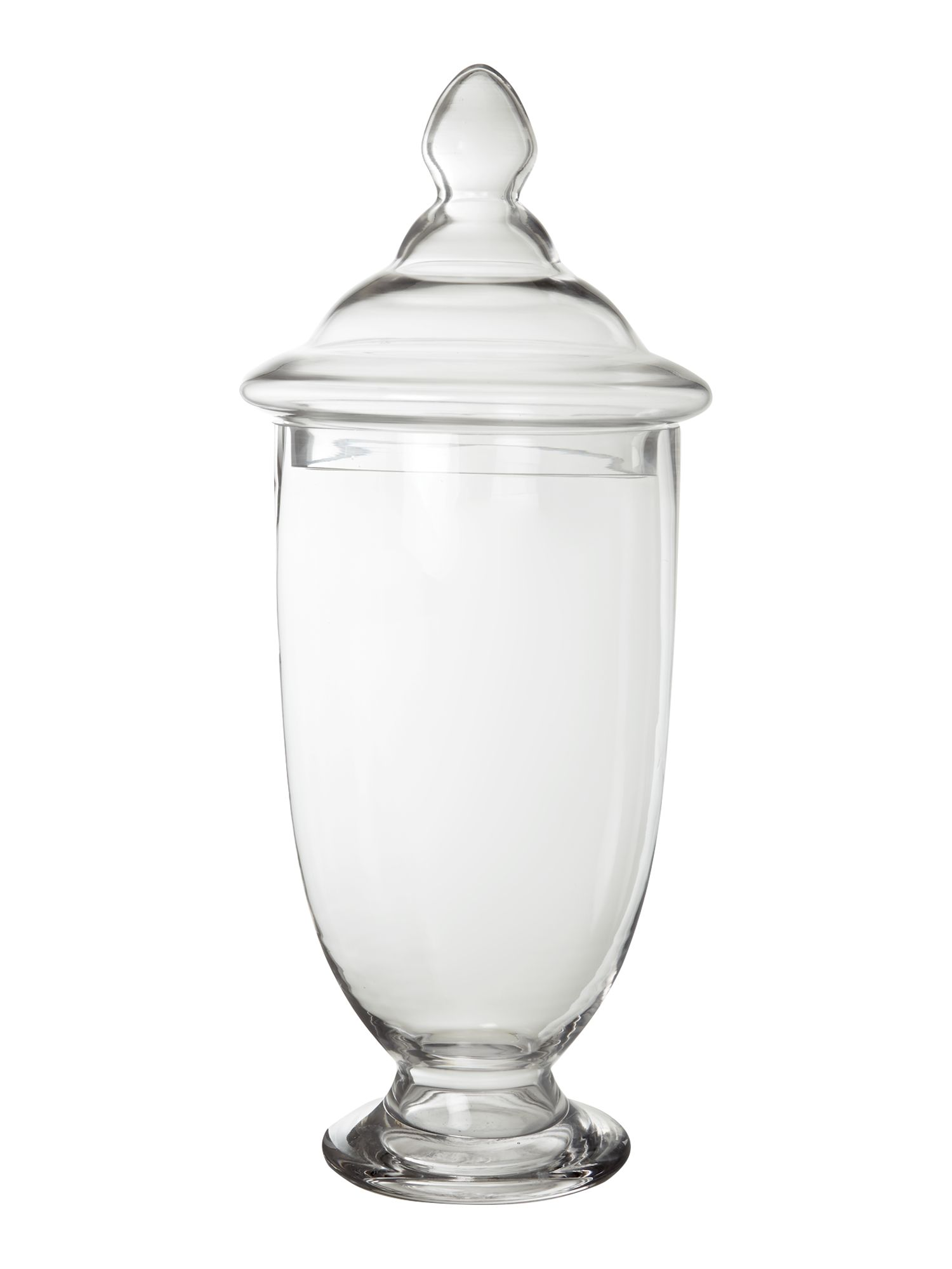 Pirard glass jar with lid