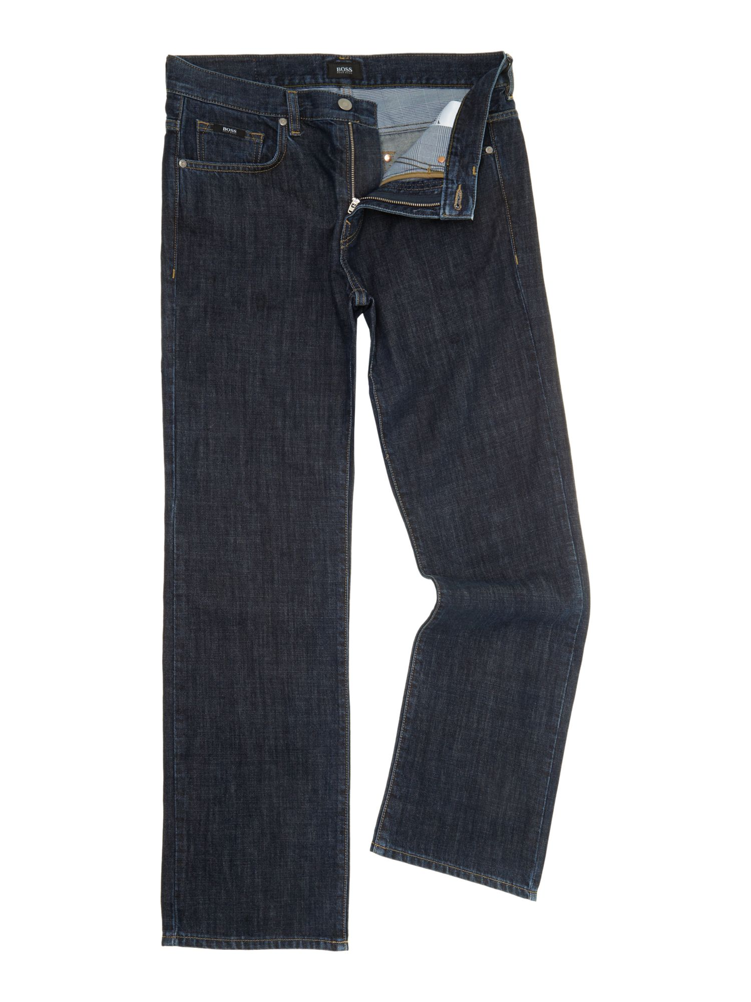 Kansas rinse wash straight leg jean