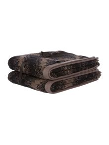 Tribal monochrome pack of 2 hand towel