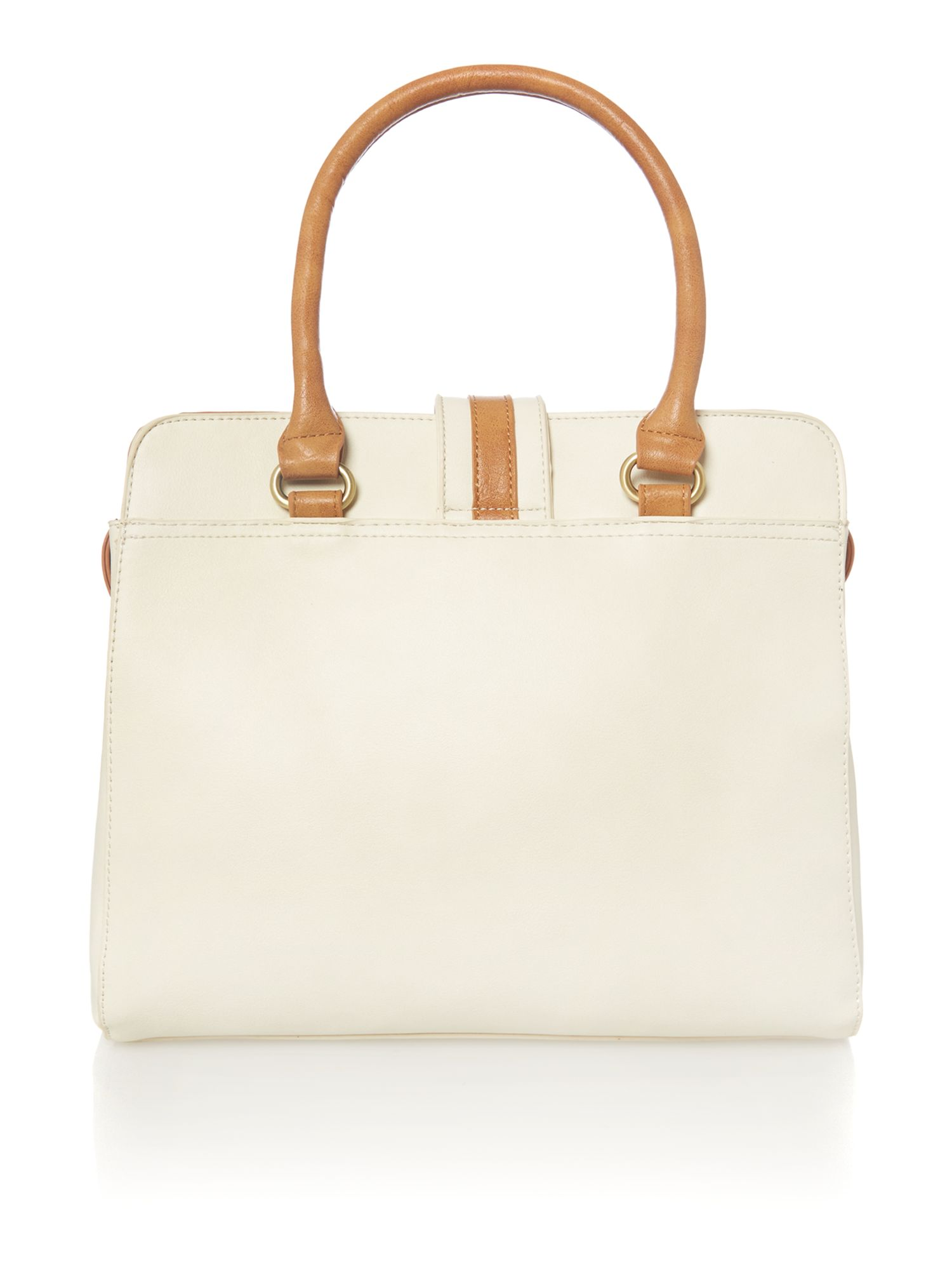 Laine cream tote bag