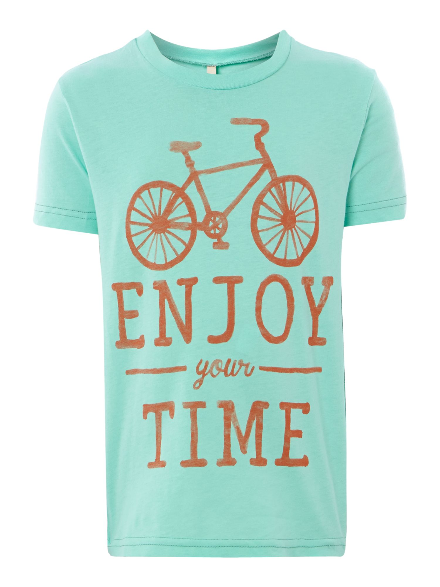 Boys bicycle print t-shirt