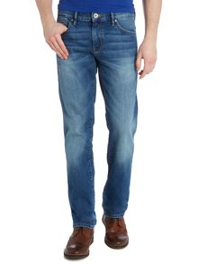 Orange 24 regular fit light wash voice jean