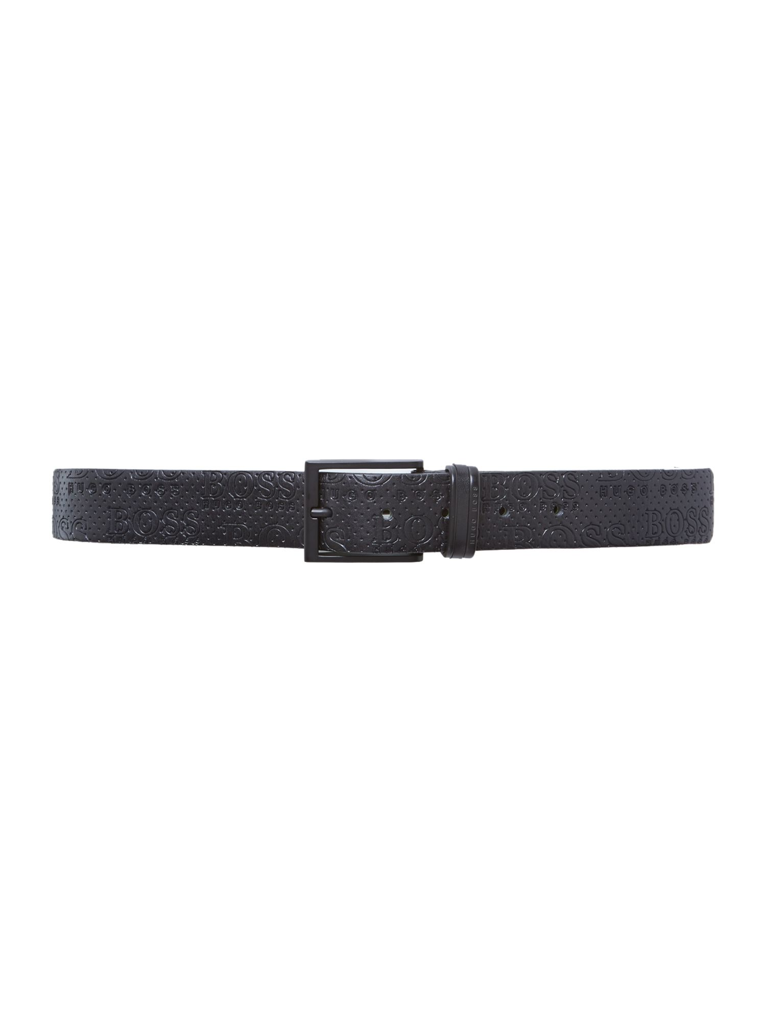 Tamirto all over logo belt
