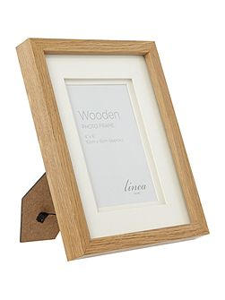 Linea Pale wood photo frame 4 x 6