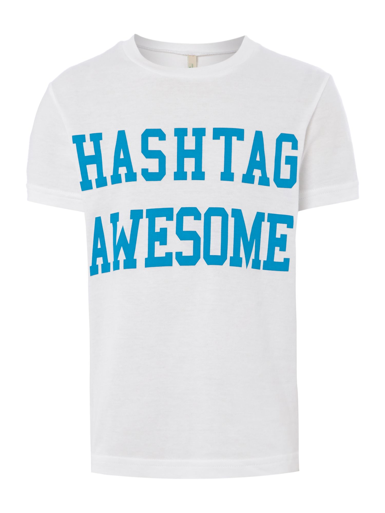 Boys hashtag awesome t-shrt