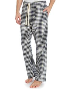 Gingham flannel pyjama pants