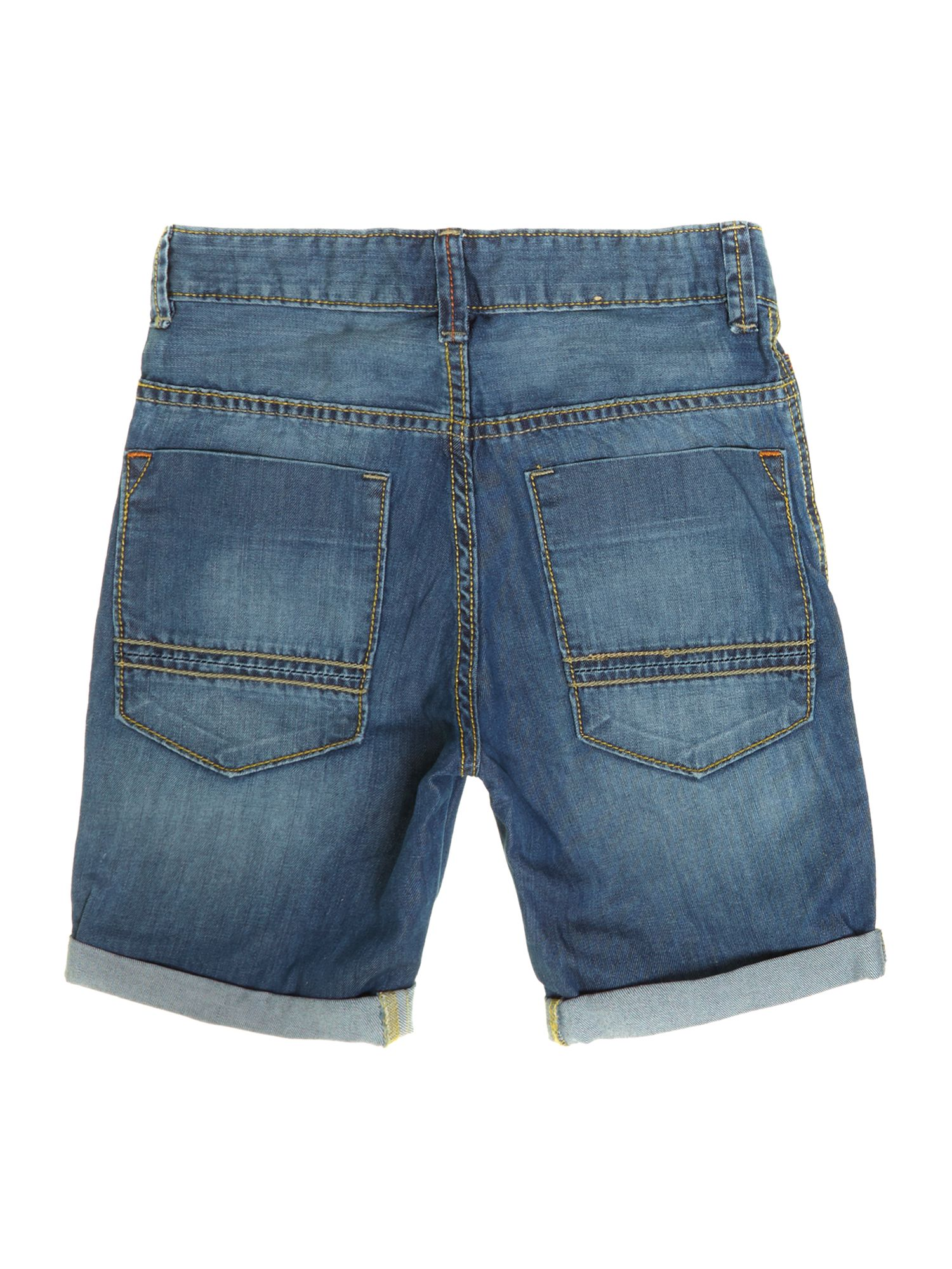 Boys denim turn up short
