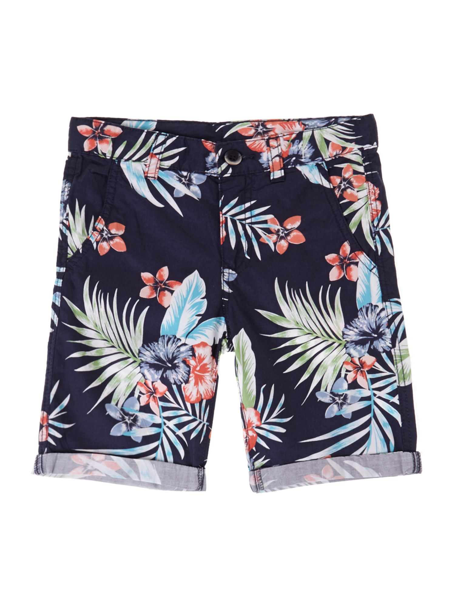 Boys tropical print short