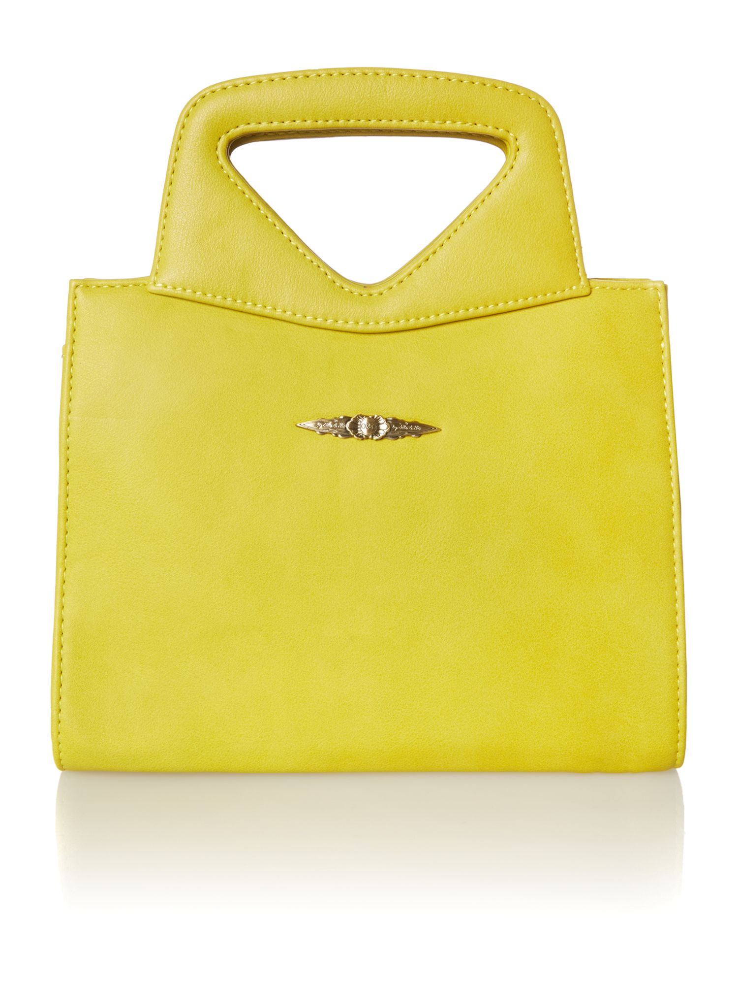 Toby yellow small cross body bag