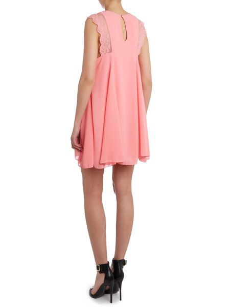 tfnc Fit and flare embroidered lace dress