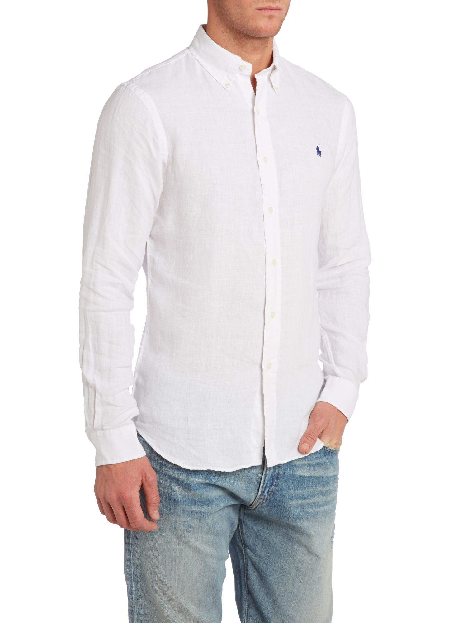 Ralph Lauren Slim Fit Linen Shirt