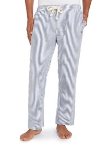Butcher stripe poplin pyjama pants