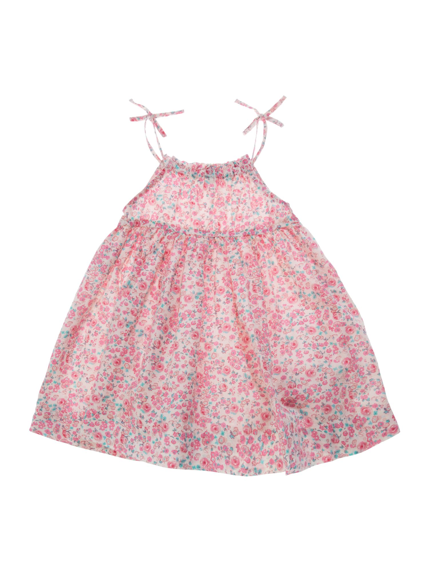Girls ditsy floral dress