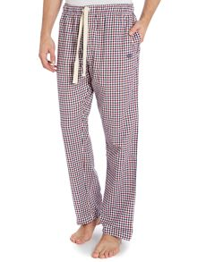 Two tone gingham flannel pyjama pants