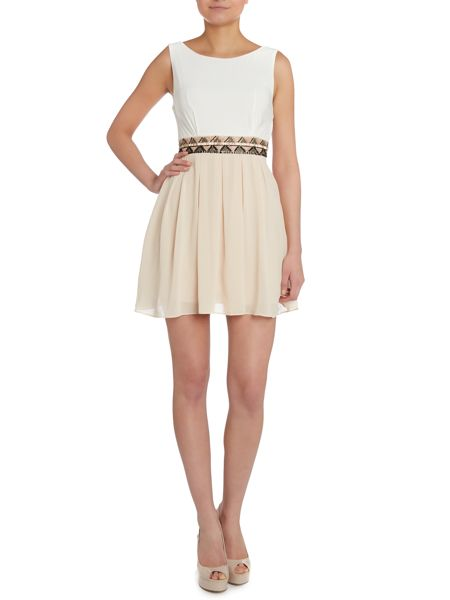 tfnc Fit and flare embellished waist