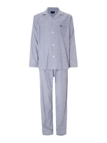 Stripe poplin pyjama set
