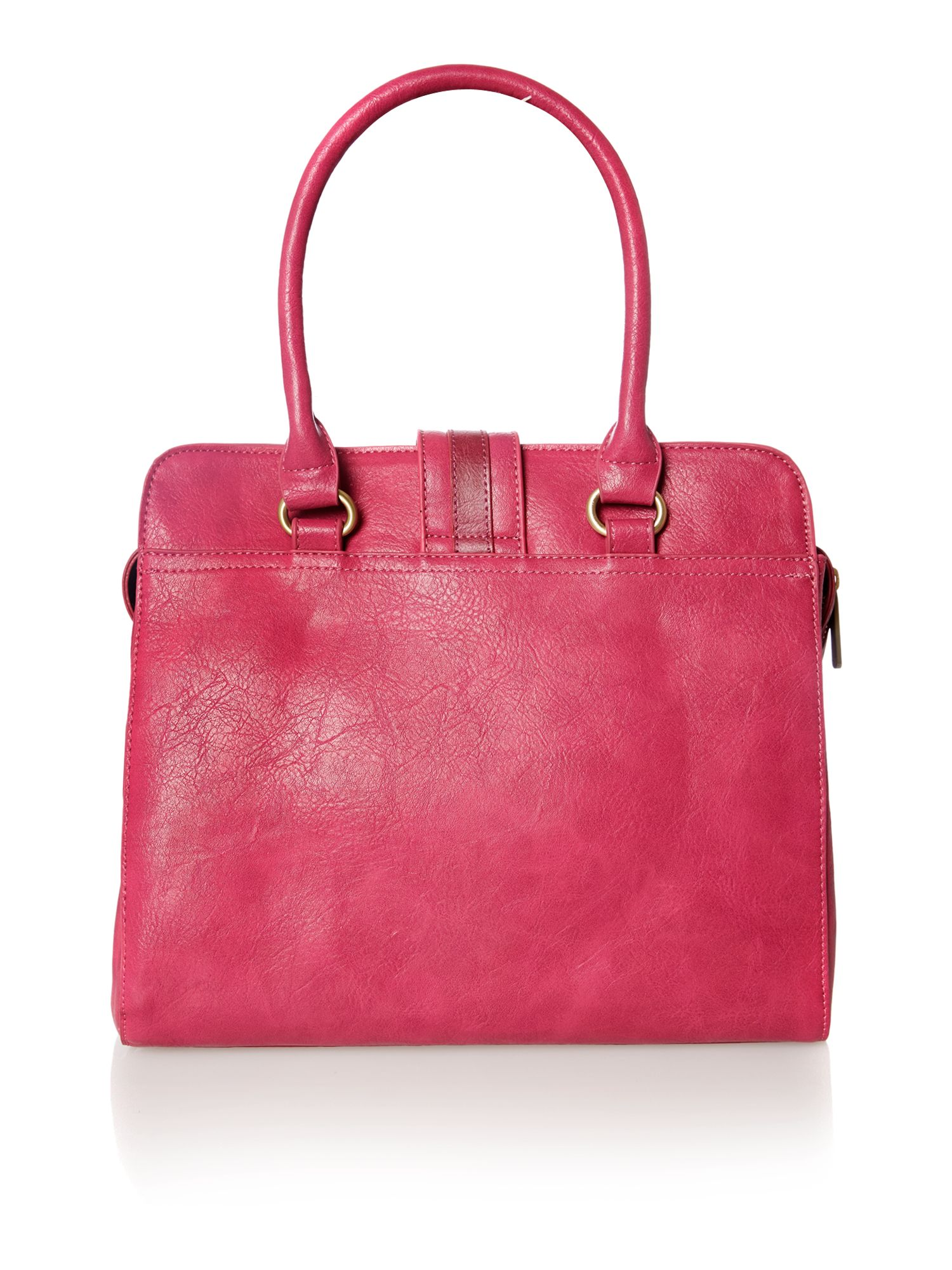 Laine pink large tote bag