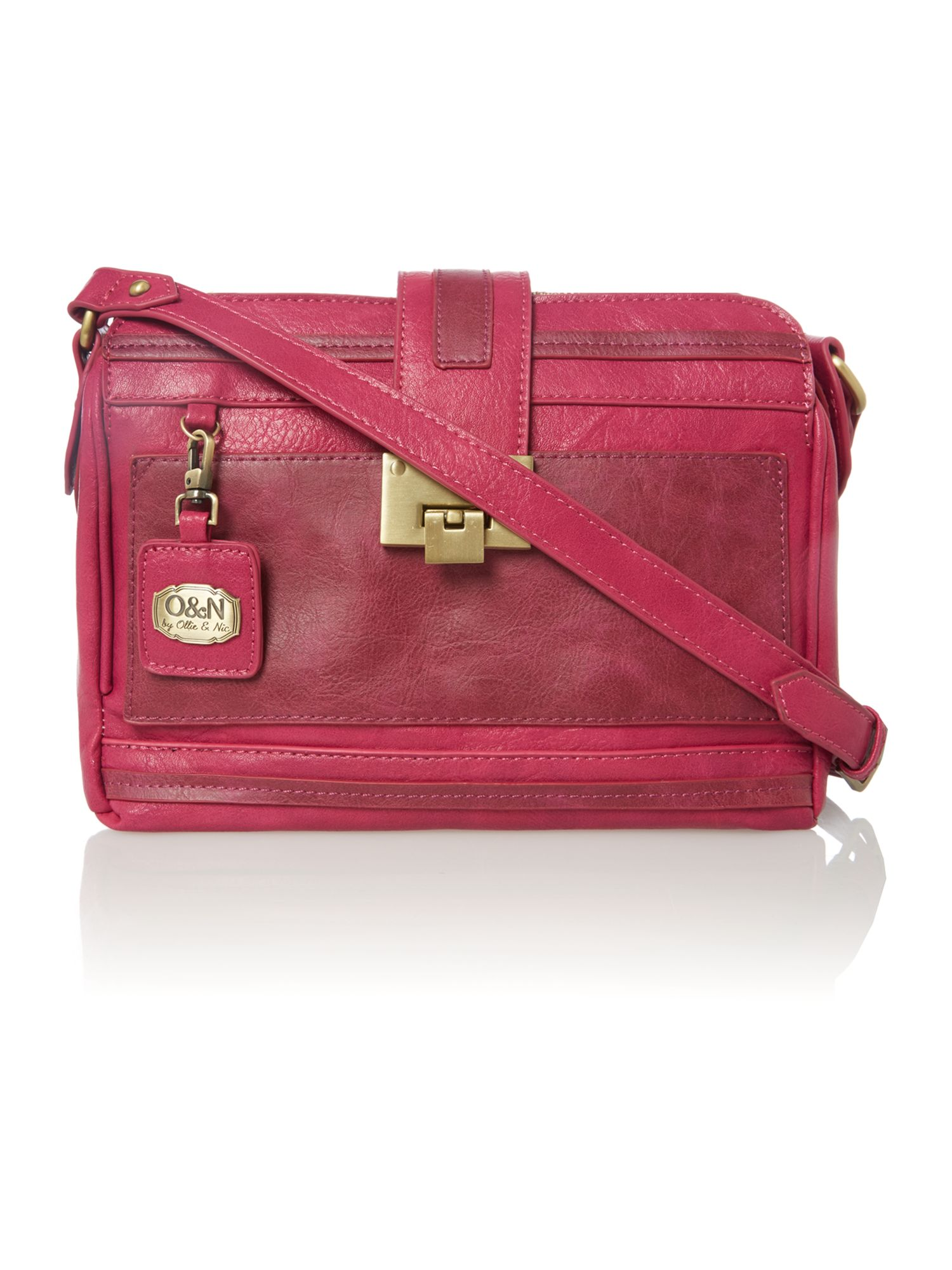 Laine pink small cross body bag