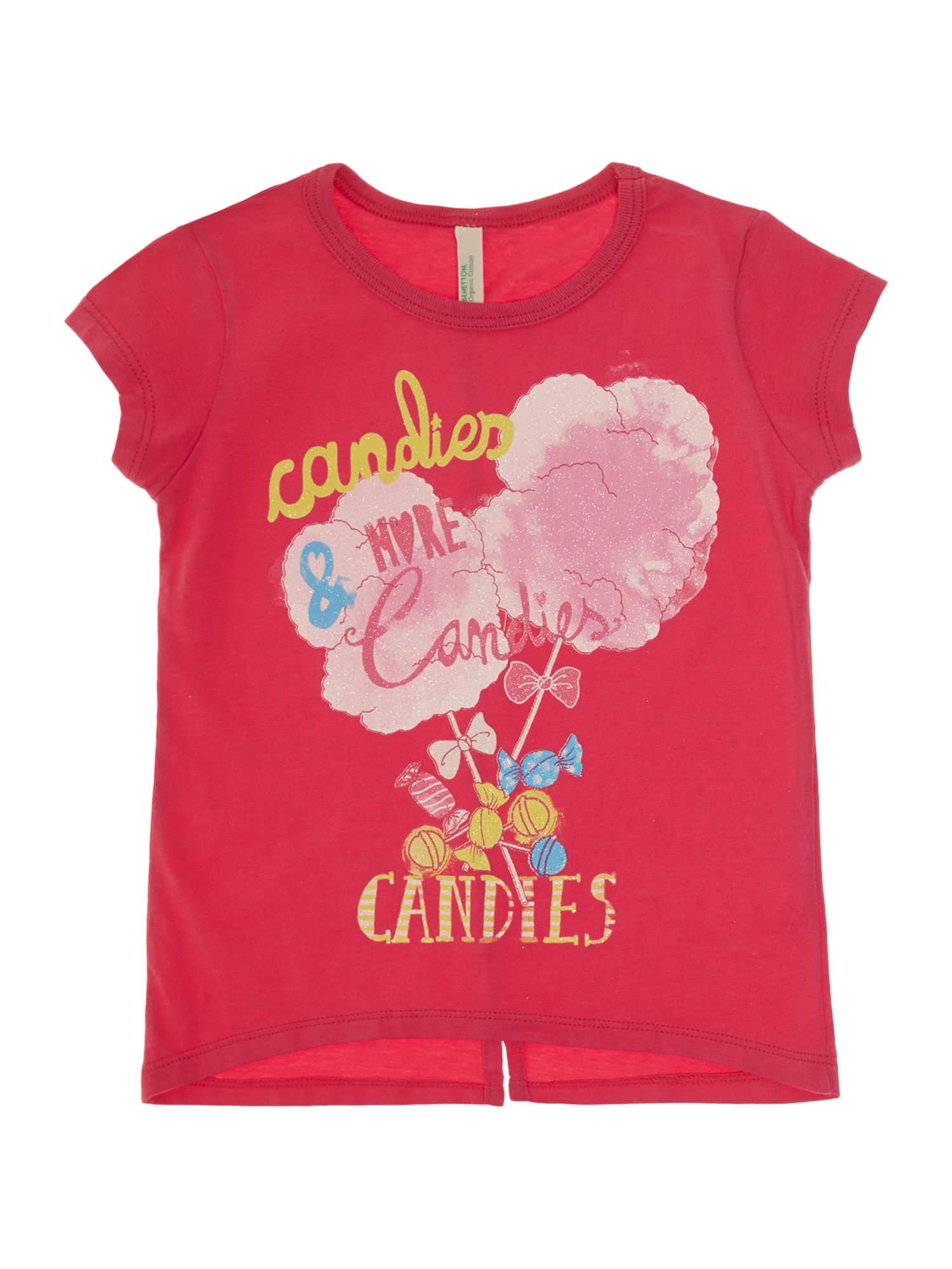 Girls glitter candies t-shirt