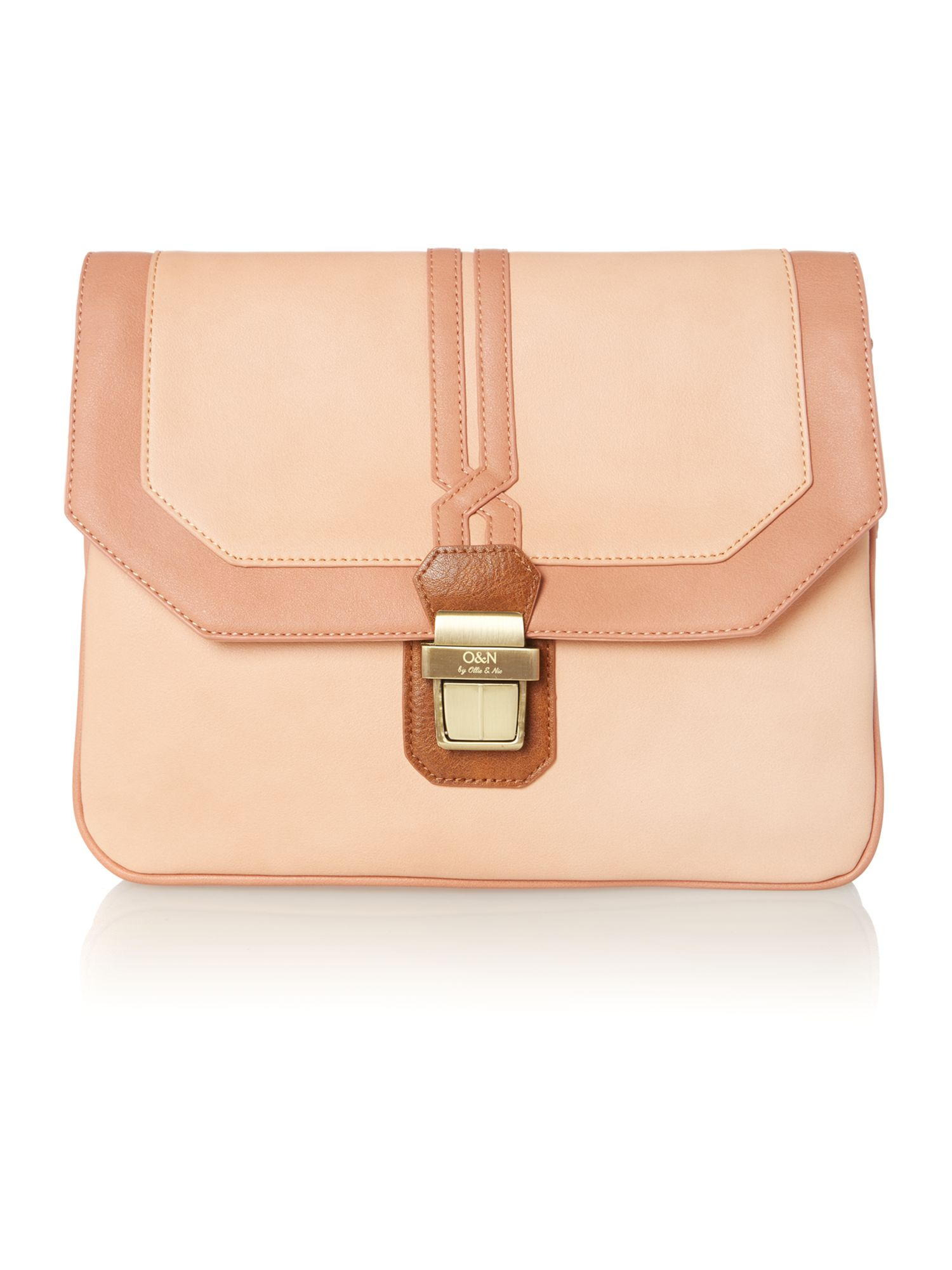 Clarence neutral small cross body bag