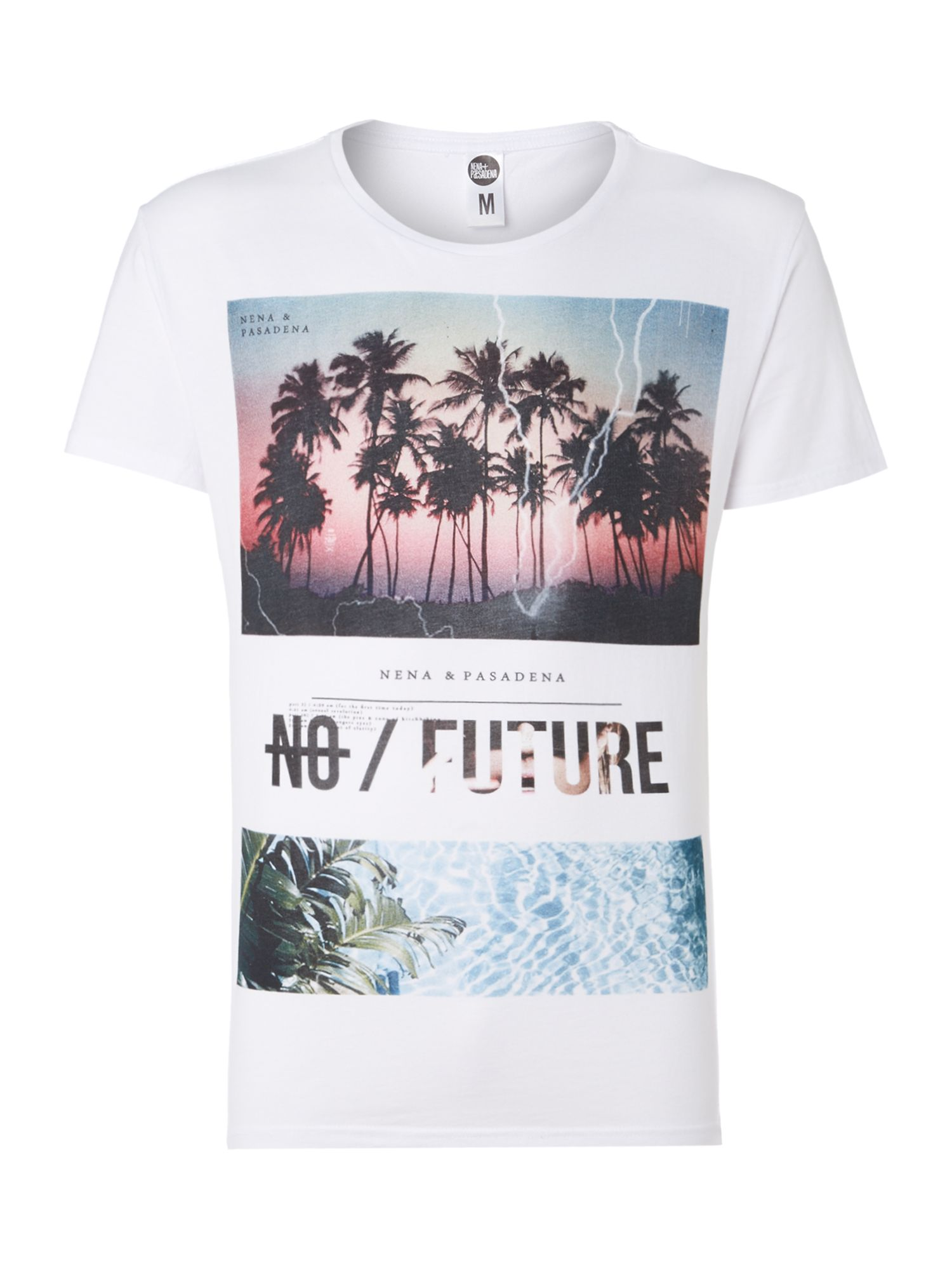 No future plans print t shirt