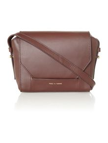 Leather Small carine cross body bag