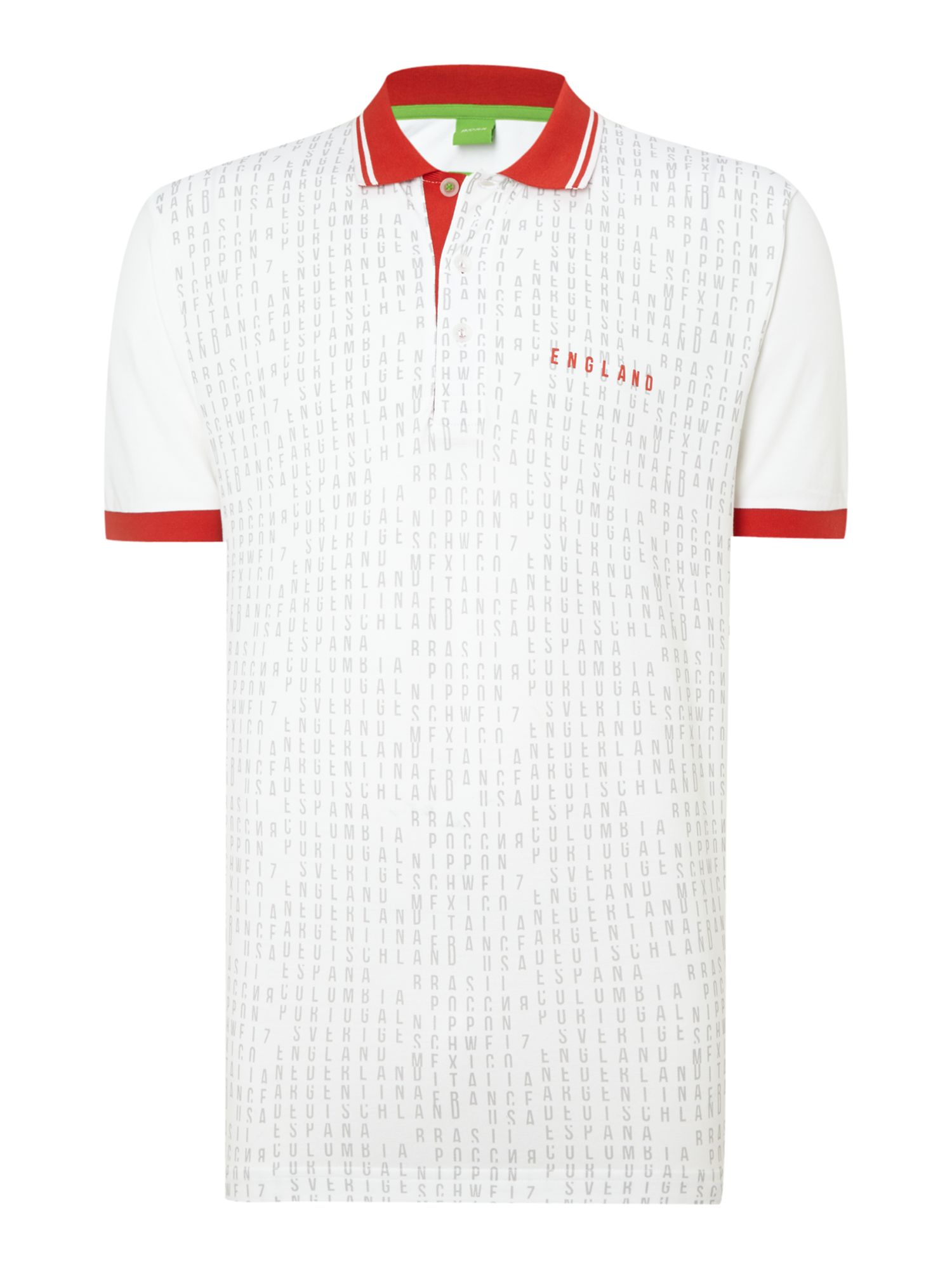 England text football polo shirt