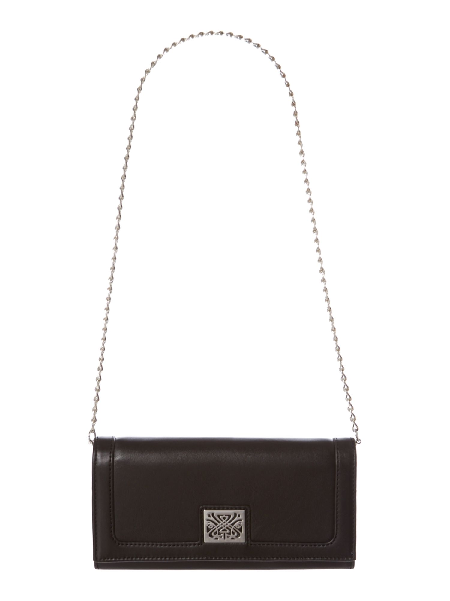 Alexandra flap over chain purse