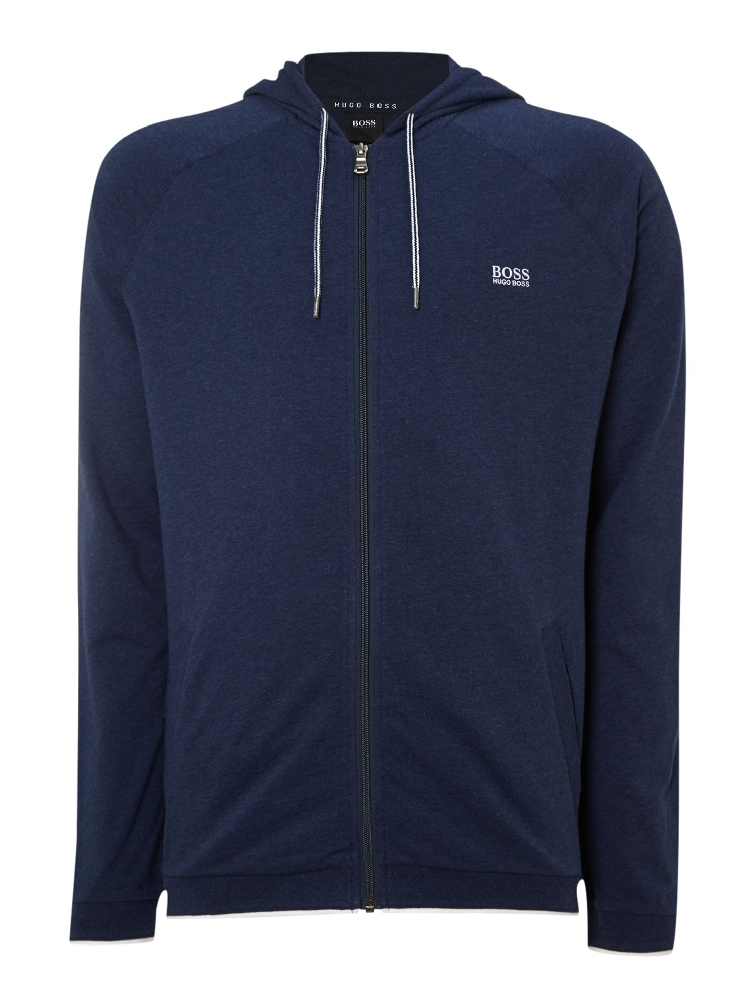 Zip through loungewear hoody