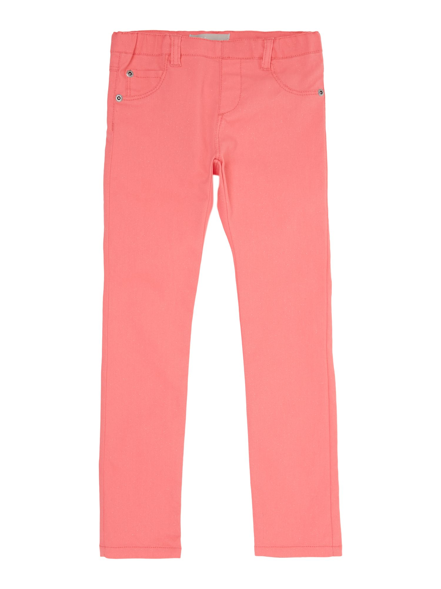 Girls sparkle lightweight trousers