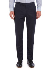 Micheli herringbone flannel suit trousers