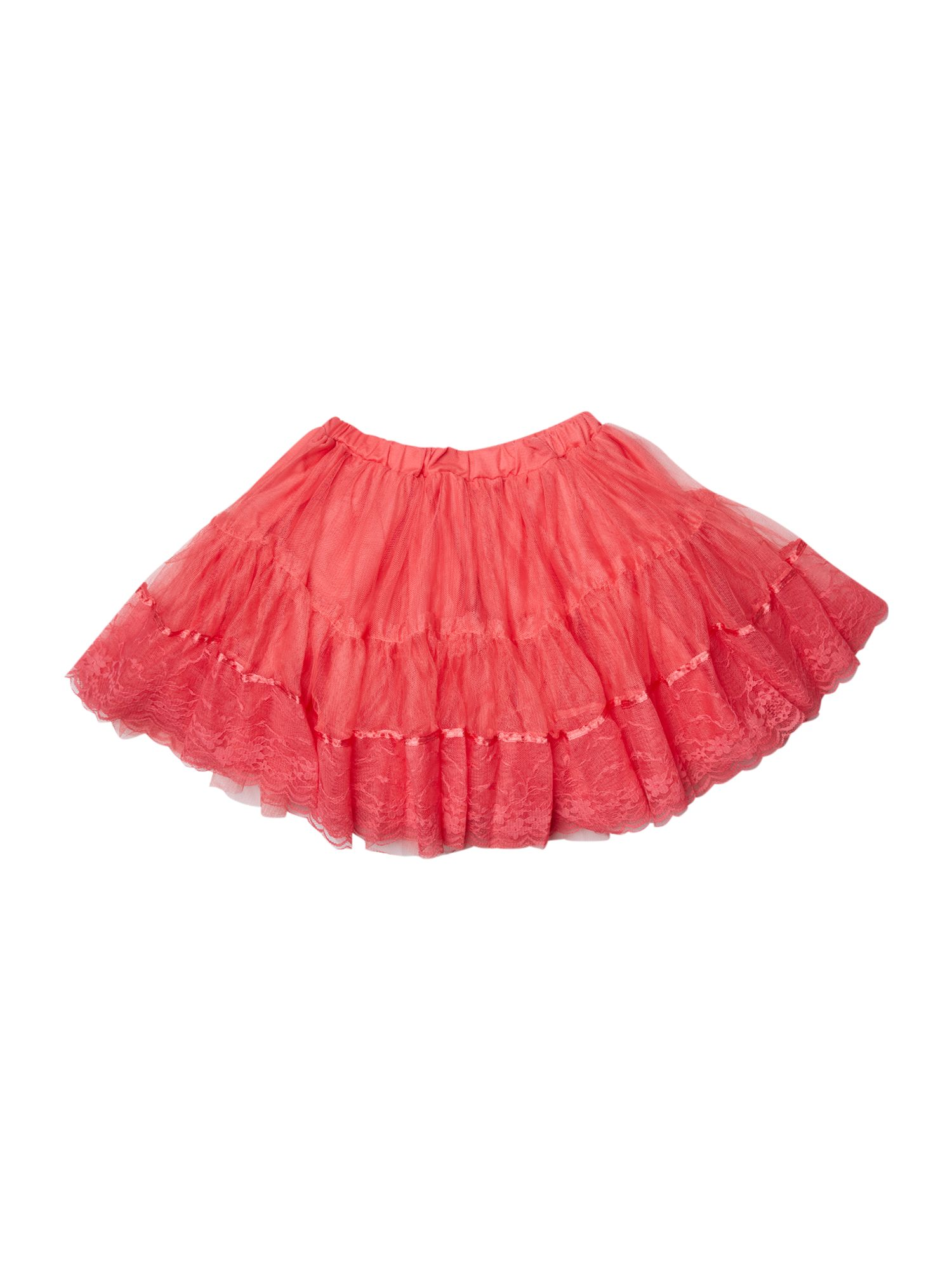Girls layered tulle tutu skirt