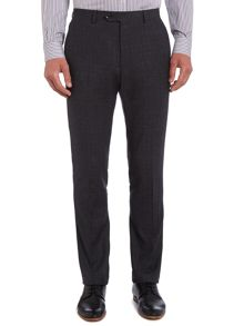 Cadorna check suit trousers