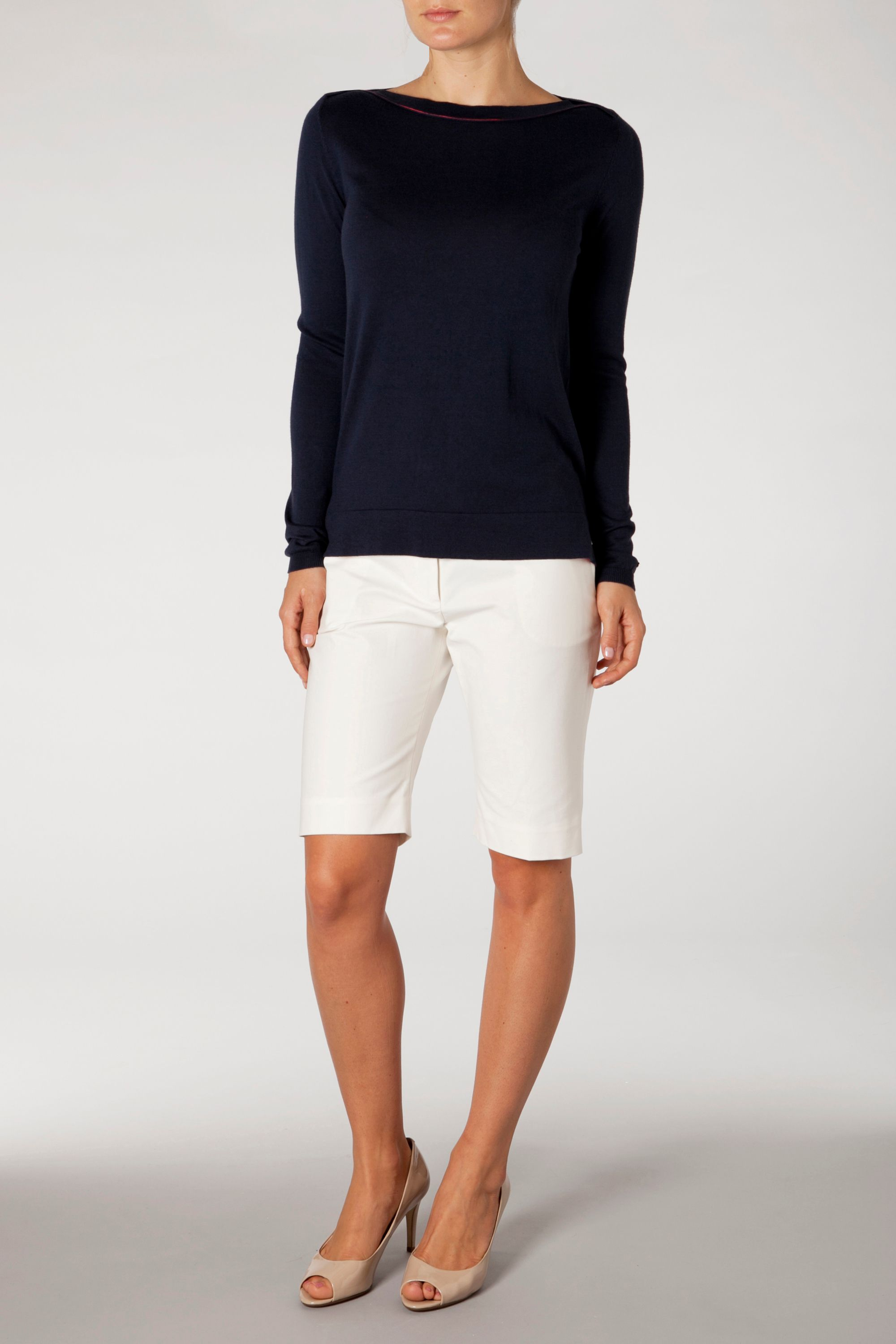 Palila boat neck top