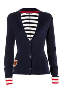 Peggy stripe blazer