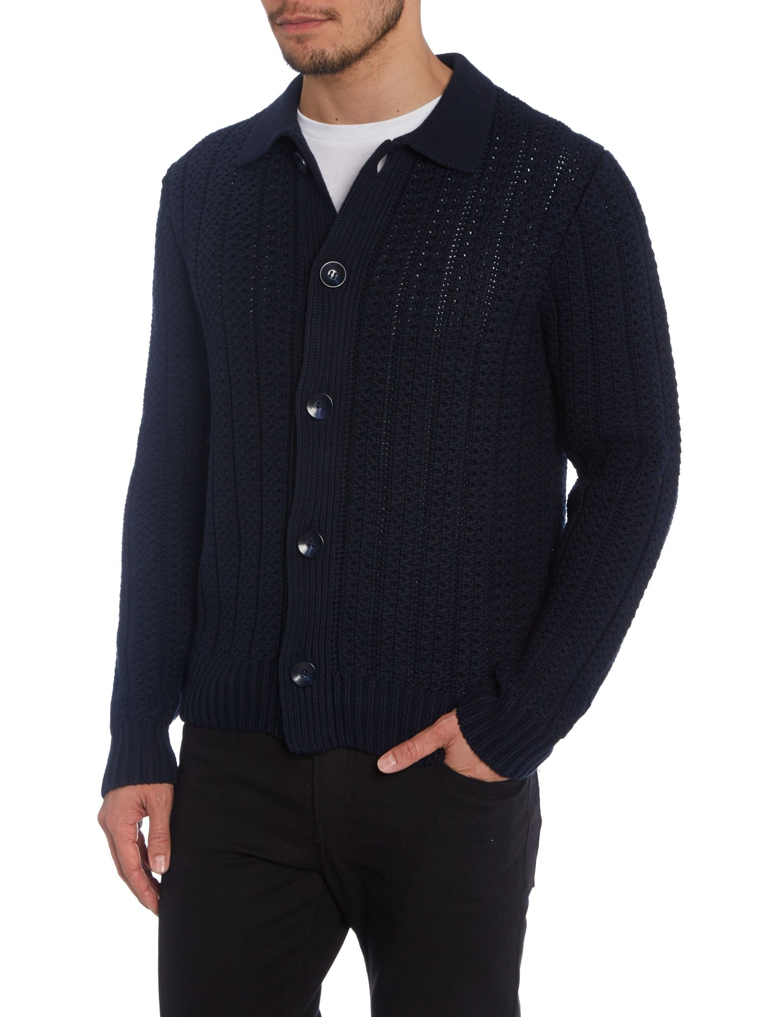 Ashurst button through cardigan