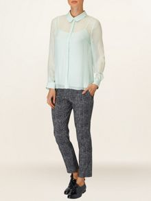 Chiara silk blouse