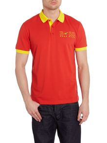 Country flag polo shirt
