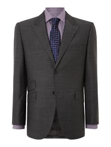Blackwater tonic herringbone peak suit jacket