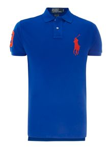 Large polo player polo shirt