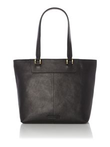 Boxy winged tote handbag