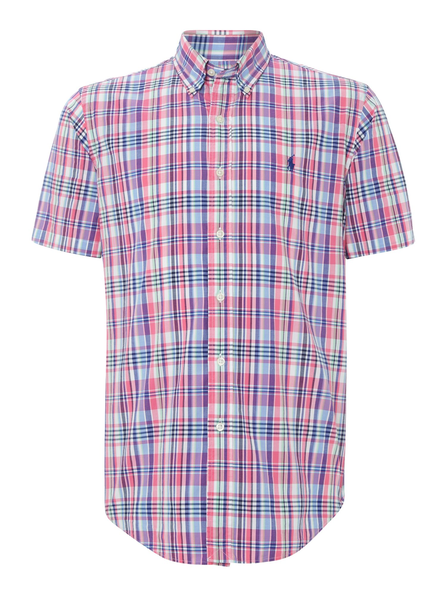 Ralph Lauren Checked Short Sleeve Shirt