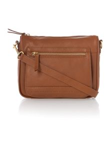 Leather Jesse crossbody handbag