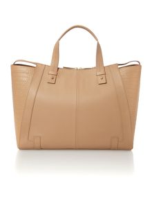 Leather Large adeline tote bag