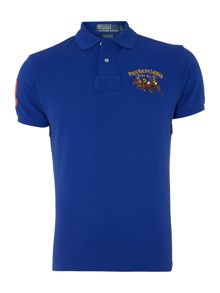 Custom fit double polo player polo shirt