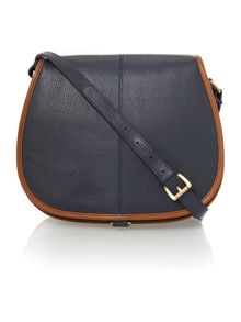 Leather Billy saddle bag
