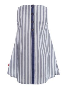 Girls pinstripe tunic top