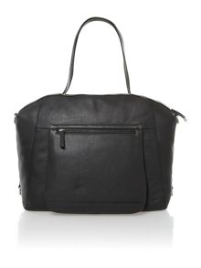 Leather Jerry weekender handbag
