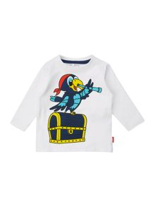 Boys pirate parrot t-shirt